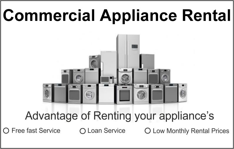 Commercial Appliance Rental