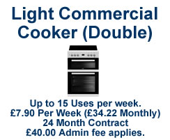 Light Commercial Cooker - Double Oven