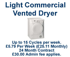 Light Commercial Vented Dryer